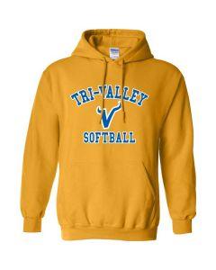 Tri-Valley MS Softball Hooded Sweatshirt