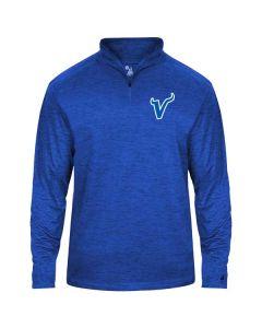 Tri-Valley MS Softball Tonal Blend 1/4 Zip Pullover