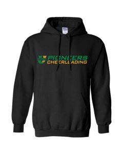 U-High Cheerleading Hooded Sweatshirt (Design 1)
