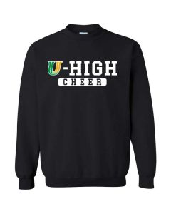 U-High Cheerleading Crewneck Sweatshirt (Design 2)