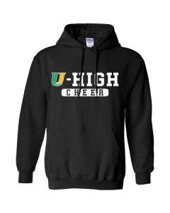 U-High Cheerleading Hooded Sweatshirt (Design 2)