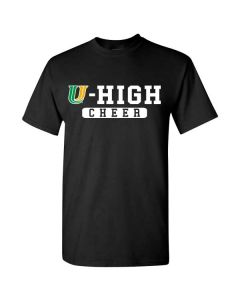 U-High Cheerleading Cotton T-shirt (Design 2)