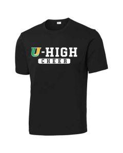 U-High Cheerleading PosiCharge Competitor T-shirt (Design 2)