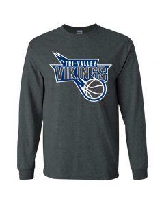 TVHS Girls Basketball Ultra Cotton Long-Sleeve T-Shirt
