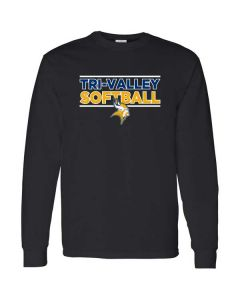TVHS Softball Cotton Long Sleeve T-shirt