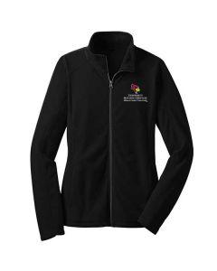 ISU Housing Services Ladies Microfleece Full Zip Jacket
