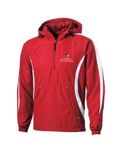 ISU Housing Services Hooded Pullover Windbreaker