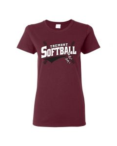 Tremont MS Softball Ladies Cotton T-shirt
