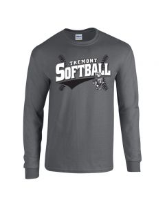 Tremont MS Softball Long Sleeve Cotton T-shirt