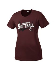 Tremont MS Softball Ladies PosiCharge Competitor T-shirt