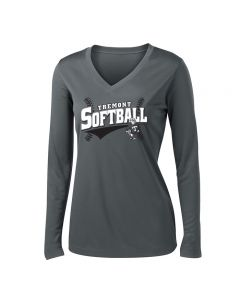Tremont MS Softball Ladies PosiCharge Competitor Long Sleeve T-shirt