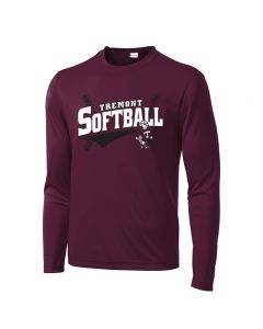 Tremont MS Softball PosiCharge Competitor Long Sleeve T-shirt