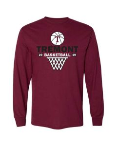 Tremont MS Basketball DryBlend Long Sleeve T-shirt