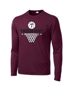 Tremont MS Basketball PosiCharge Competitor Long Sleeve T-shirt