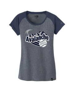 BNGSA Avalanche Ladies Heritage Blend Varsity Tee