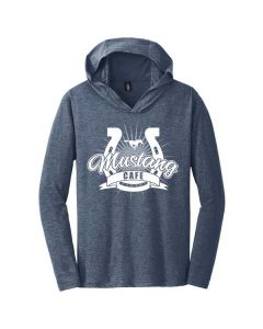 Ridgeview Mustang Cafe District Perfect Tri Long Sleeve Hoodie