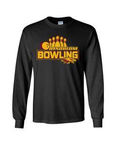 Lindblom HS Bowling Long Sleeve Cotton T-shirt