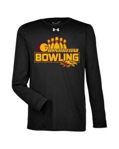 Lindblom HS Bowling Under Armour Dri-Fit Long Sleeve Locker T-shirt
