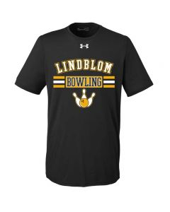 Lindblom Bowling Short Sleeve Under Armour Tee