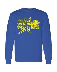 SOILL Regional Basketball Long Sleeve T-shirt