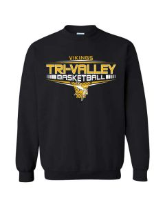 Tri-Valley HS Boys Basketball Crewneck Sweatshirt