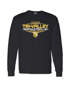 Tri-Valley HS Boys Basketball Long Sleeve T-shirt