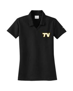 Tri-Valley HS Boys Basketball Ladies Ladies Nike Micro Pique Polo Shirt