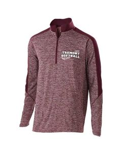 Tremont HS Softball Men's Electrify 1/2 Zip Pullover