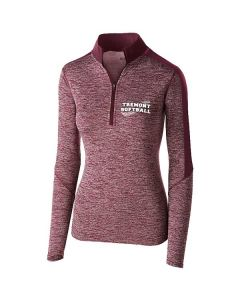 Tremont HS Softball Ladies Electrify 1/2 Zip Pullover