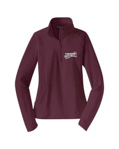 Tremont HS Softball Ladies Sport-Wick Stretch 1/2 Zip Pullover