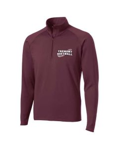 Tremont HS Softball Men's Sport-Wick Stretch 1/2 Zip Pullover