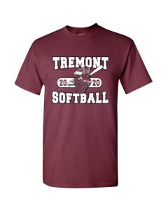 Tremont HS Softball Cotton Player T-shirt - Required