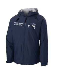 Harper College Motorcycle Safety Full Zip Jacket with Sweatshirt Lining
