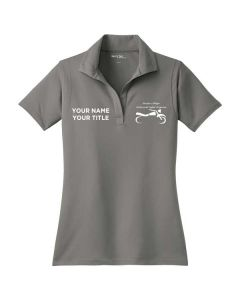 Harper College Motorcycle Safety Ladies Performance Polo