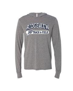 Ridgeview JH Track Long Sleeve Hooded Tee Shirt