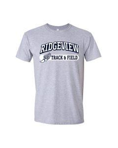 Ridgeview JH Track Softstyle Cotton Tee Shirt
