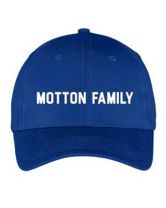 Motton Family Reunion Baseball hat