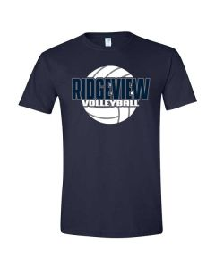 Ridgeview HS Volleyball Softstyle T-shirt