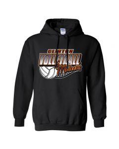 Clinton HS Volleyball Hooded Sweatshirt