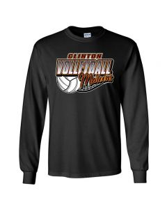 Clinton HS Volleyball Long Sleeve Tee