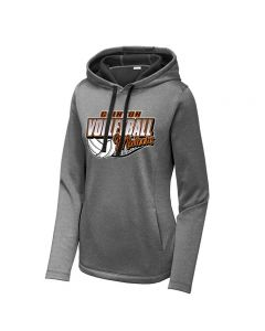 Clinton HS Volleyball Ladies Performance Sweatshirt