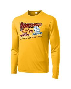 Clinton HS Homecoming Long Sleeve PosiCharge Competitor Tee