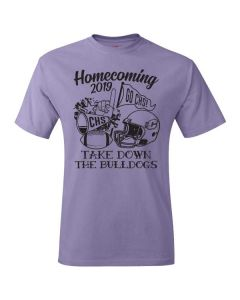 Clinton HS Homecoming Sophomore Short Sleeve Tee