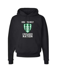 Holy Family Ecosmart 50/50 Pullover Hooded Sweatshirt