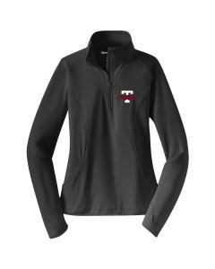 Tremont Staff Ladies Sport-Wick Stretch 1/2 Zip Pullover