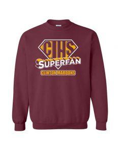 Clinton JH Superfan Crewneck Sweatshirt