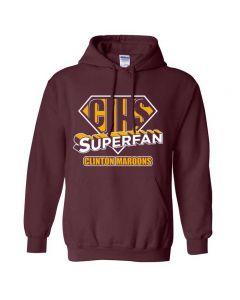 Clinton JH Superfan Hooded Sweatshirt
