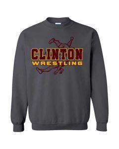 Clinton HS Wrestling Crewneck Sweatshirt