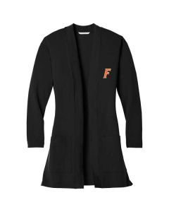 Fisher HS Staff Ladies Cardigan