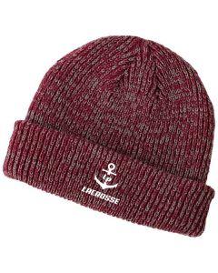 Lockport HS Lacrosse Beanie Hat